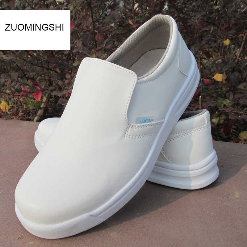 2740161a79f9 Detail Feedback Questions about DDTX White Work Shoes Men Waterproof ...