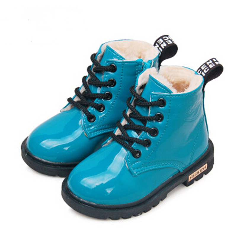 2017-New-Winter-Children-Shoes-PU-Leather-Waterproof-Martin-Boots-Kids-Snow-Boots-Brand-Girls-Boys-Rubber-Boots-Fashion-Sneakers-3
