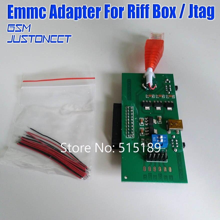 2018 durchführen arbeit ohne änderung ihrer EMMC Adapter für Riff BOX jtag freies verschiffen