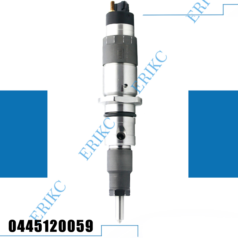 ERIKC 0445120059 (4945969) Injector Diesel Fuel 0 445 120 059 Common Rail Injector Parts for KOMATSU 200 8 Cummins and CDC|common rail injector parts|injector parts|fuel injector - title=