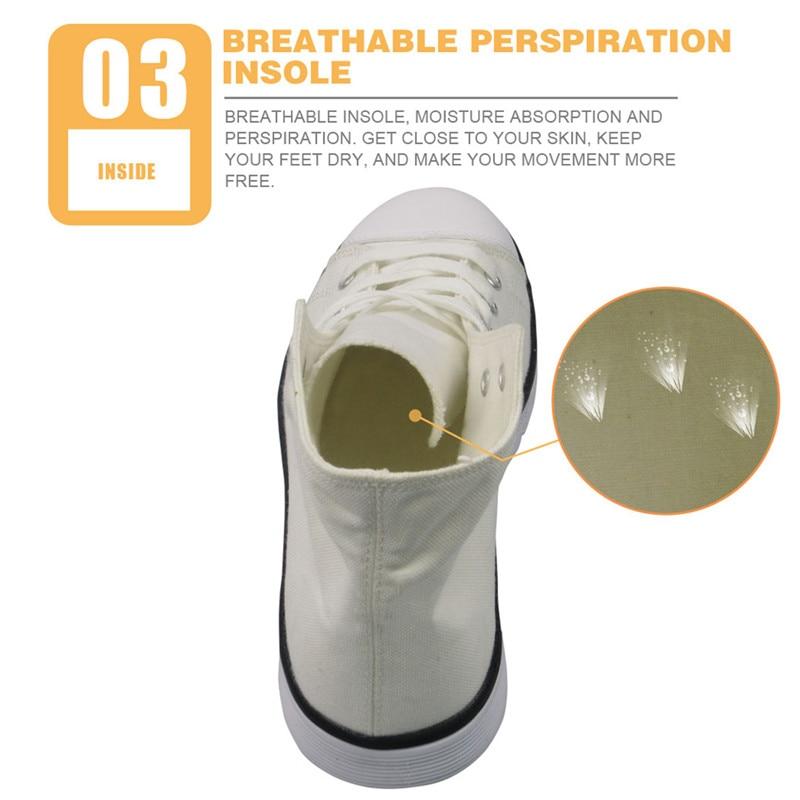 04 male breathable canvas shoes