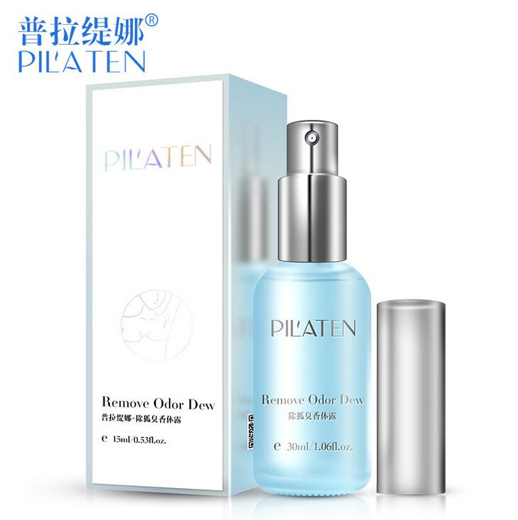Pilaten To Cure Underarm Armpits Stop Sweat Dew Beads Net Remove Body Odor Smell Water Spray