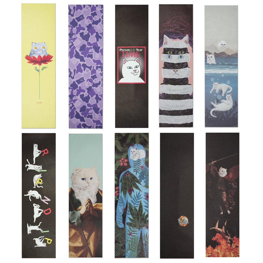 RIPNDIP Skateboard Grip Tape 9x33