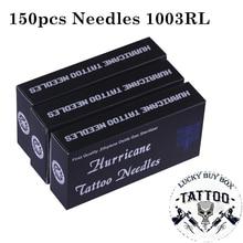 Agujas para tatuaje profesional esterilizador redondo desechable, agujas para tatuaje, arte corporal, 150 Uds.