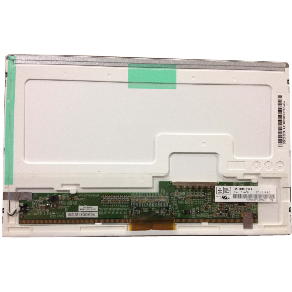 HSD100IFW4 A00 <font><b>HSD100IFW1</b></font> 30pin LCD LED Screen Panel for Asus Eee PC 1011CX image