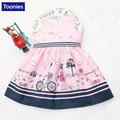 Girls Princess Dress Children Clothing 2017 Brand New Girls Dress Cartoon Kids Clothes for Party Birthday Baby Girls Clothing