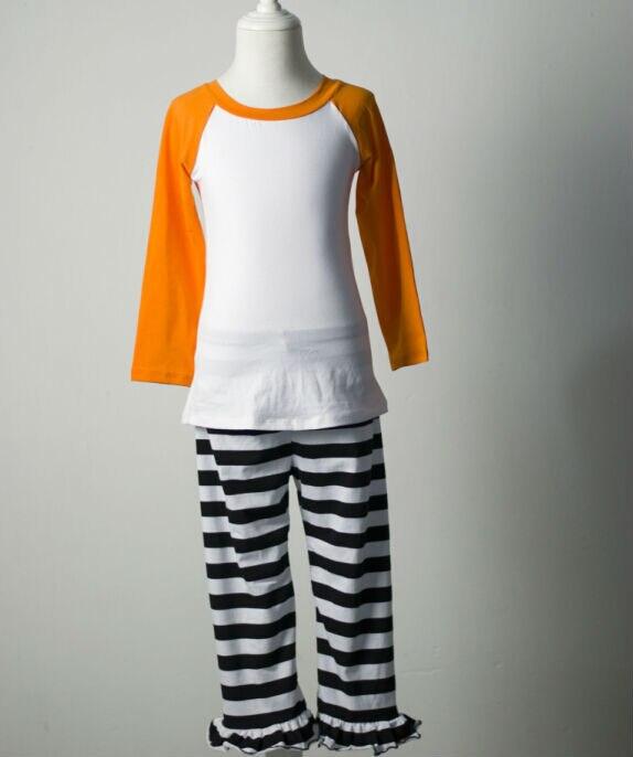 boutique clothing teenage child boys girls winter pajamas clothes pjs stripe pajamas Sleep Wear toddler girls Halloween pajamas