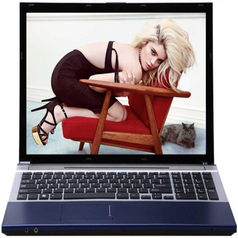 Intel Core i7 CPU HD Đồ Họa Máy Tính Xách Tay 8GB RAM + Tặng 60GB SSD + 2000GB HDD Laptop Chơi Game windows 10 Laptop Tích Hợp Bluetooth DVD-RW