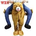 Талисман Нести Меня Ездить на Костюм Животных Смешные Фантазии Dress Брюки Медведь Для Взрослых Костюм Новинка Подарки Унисекс WXC