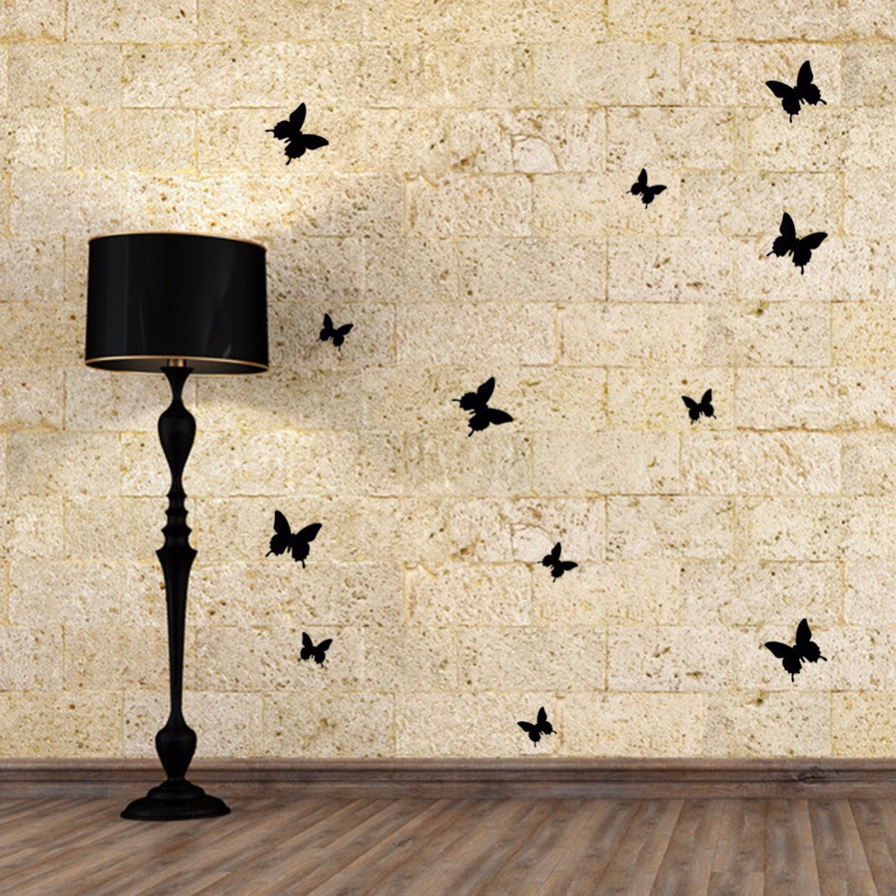 3D Butterfly Wall Stickers DIY PVC Removable Wall Sticker Art ...