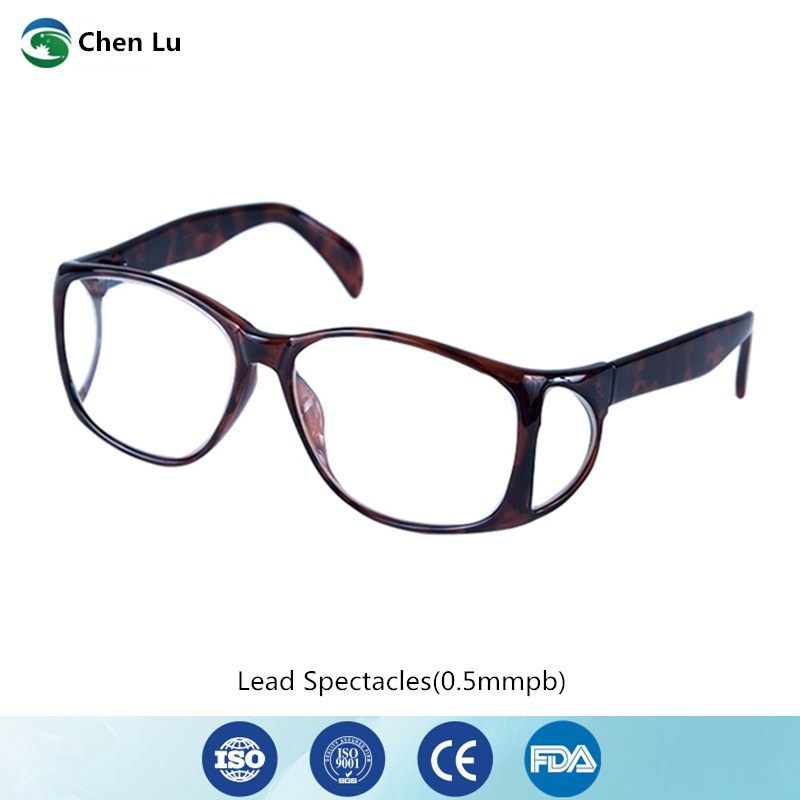 Genuine Ionizing Radiation Protective Front And Side Comprehensive Protection Glasses X-ray Shielding 0.5mmpb Lead Spectacles