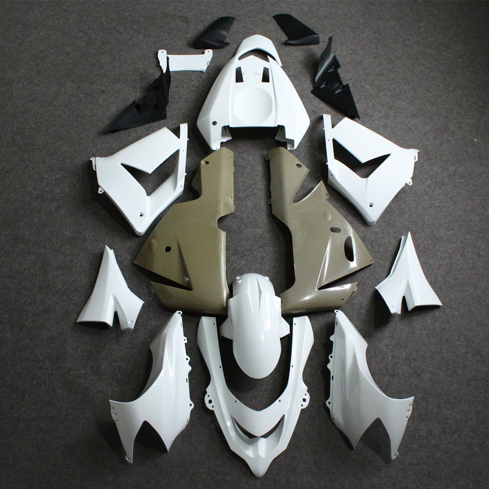 ABS Unpainted Fairing Kit Bodywork for Kawasaki Ninja ZX10R 2004 2005 ZX10R ZX-10R 04 05 Motorcycle Injection Molding Fairings