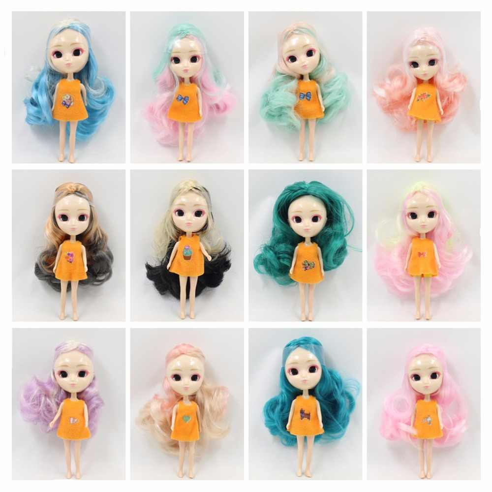 4433109dc89f2 ICY Nude Mini Pullip Doll No.2 many kinds of hair colors,clothes random