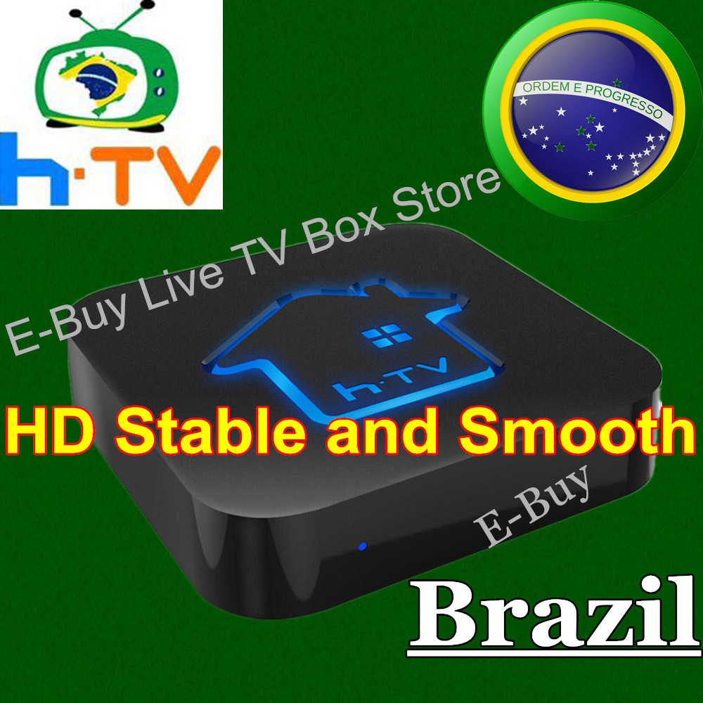 5pc/lot HTV Box CANAIS DO BRAZIL h tv 3 Portuguese