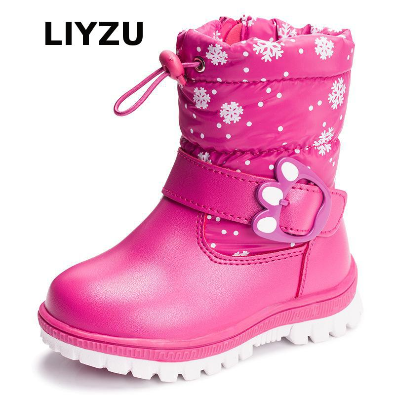Children's Shoes In The Bottom Of The Tube Cotton Boots Autumn And Winter Thick Warm Snow Boots Waterproof Boys And Girls Shoes children autumn and winter warm clothes boys and girls thick cashmere sweaters