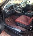 Buena calidad! tapetes especial para el Nuevo Lexus LX 570 7 asientos 2016 impermeable alfombras pie para LX570 2015-2013, envío gratis