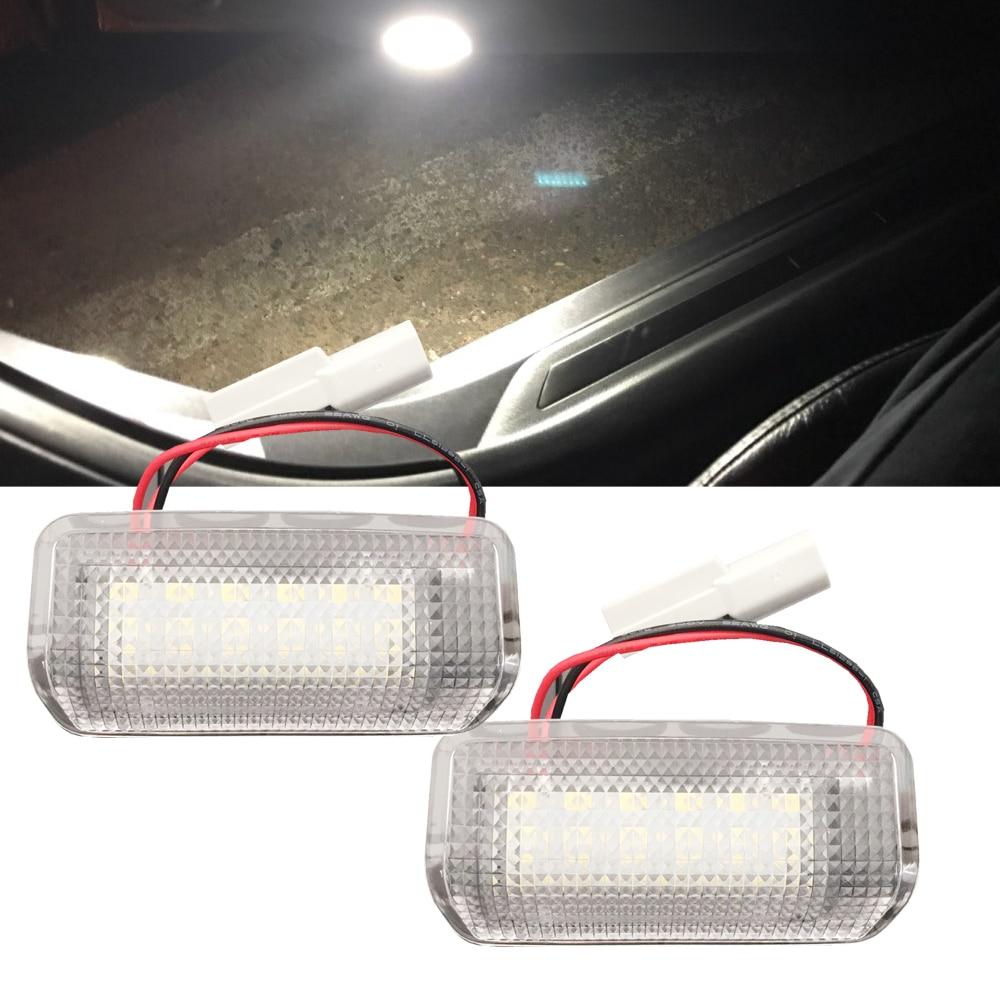 Factory cheap LED door courtesy light for Toyota Alphard Prius Vellfire Isis Estima Land Cruiser Camry Mark X LED courtesy lamps