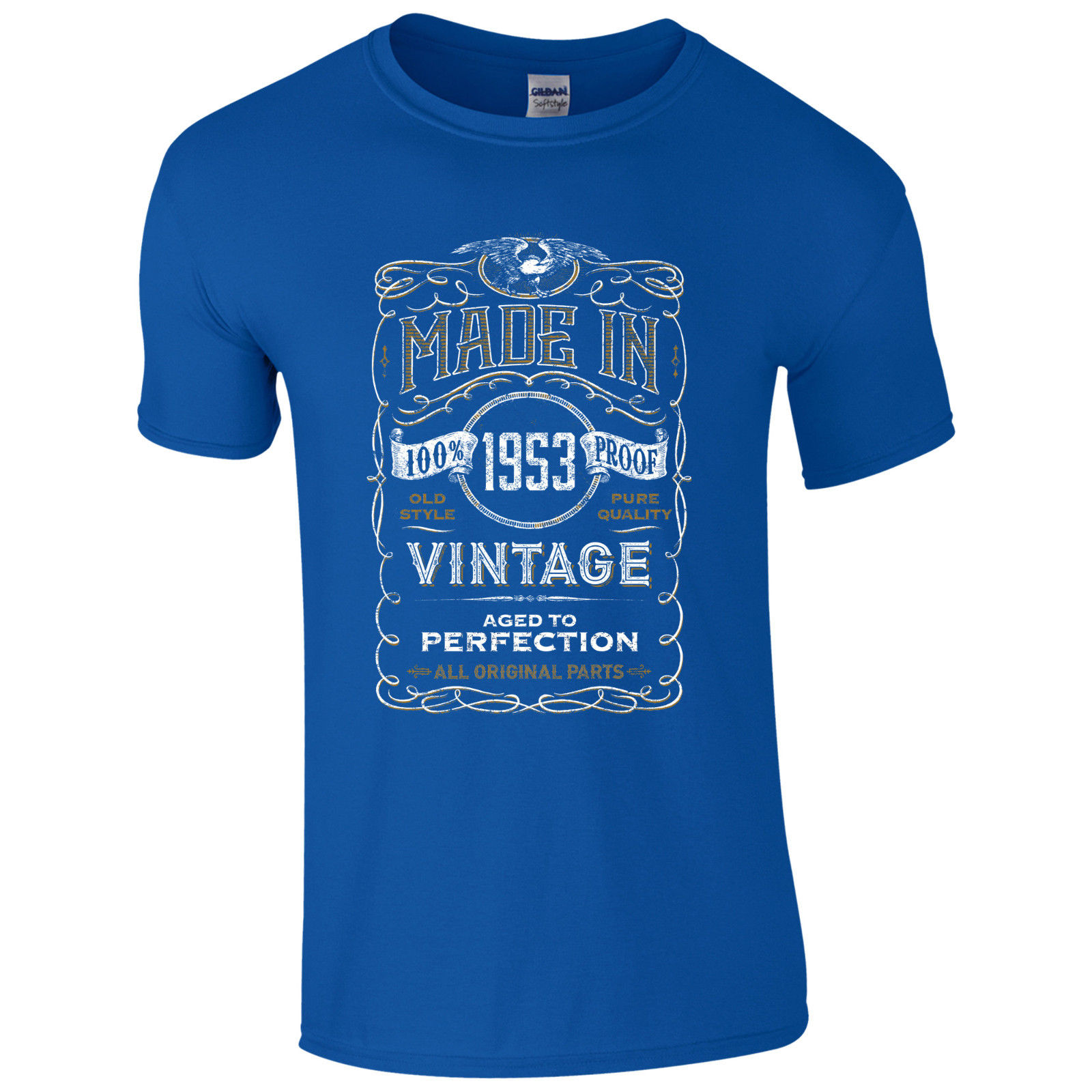 Made in 1953 T Shirt Born 65th Year Birthday Age Present Vintage Funny Mens Gift Funny Tops Tee New Unisex Funny free shipping in T Shirts from Men 39 s Clothing