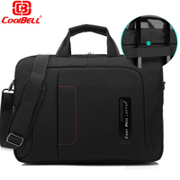 CoolBell 15 6 Inch Laptop Shoulder Bag Briefcase W Strap Messenger Hand Bag Briefcase For Alienware
