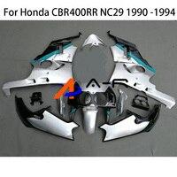 Logo CBR400 Bodywork Fairing For Honda CBR400RR CBR400 RR NC29 1990 1991 1992 1993 1994 CBR 400RR CBR 400 RR Fairings Kit