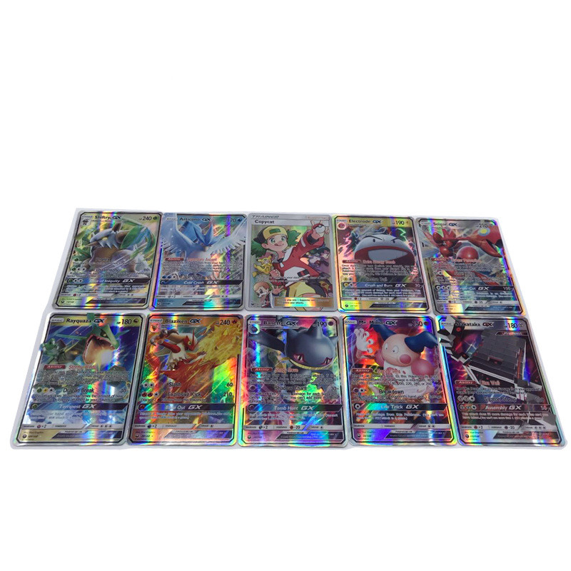 324PCS/set Shining Trading Cards XY GX MEGA English Game Battle Card EX Charizard Venusaur Blastoise Kids Gift Pikachu Figures