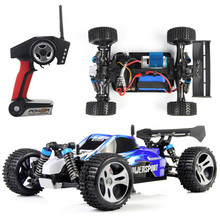 1:18 RC Off-Road Car 2.4G 4CH 4WD High-speed Electric Race Car Model Toy Four-Wheel Stunt Remote Control Motors DriveBigfoot Car