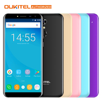 Original Oukitel C8 Mobile Phone 3G 5 5 18 9 HD Screen Phone Quad Core 2GB