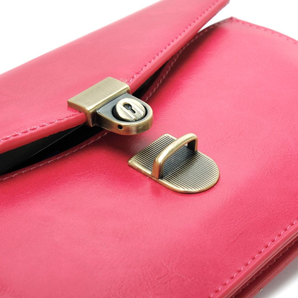Hombro universal, cuero cruzado, paquete cruzado, bolsa - Accesorios y repuestos para celulares - foto 3