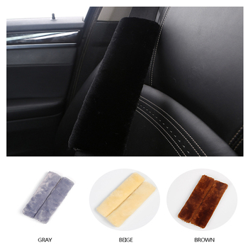 2019 Soft Car Safety Seat belts Shoulder Padding Cover For Bmw E46 E90 E60 E39 E36 F30 Lada Granta Chevrolet Cruze Lacetti Lexus image