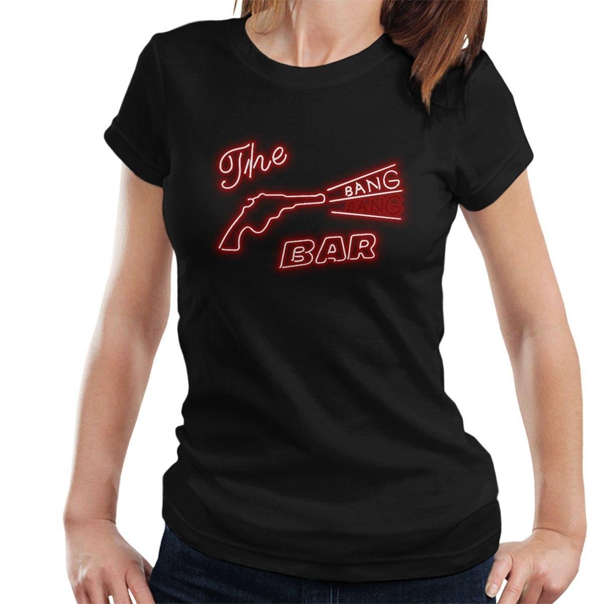 Twin Peaks Bang Bang Bar Logo Womens T-Shirt