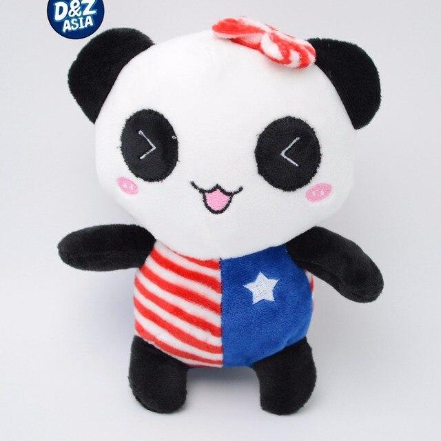 1 piece Kreatif lucu kartun panda pasangan bendera mewah boneka mainan  boneka hadiah ulang tahun 7153173ecf