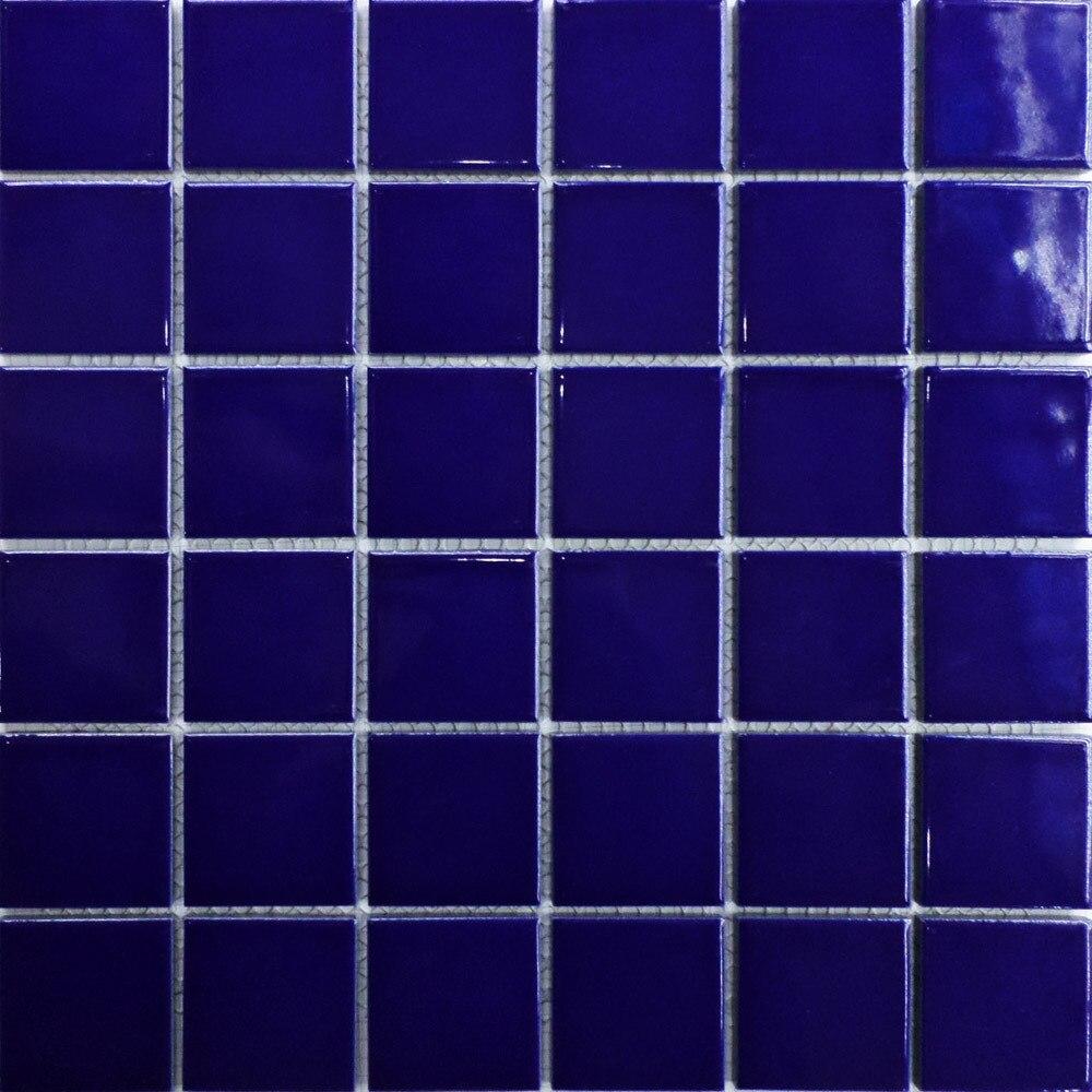 ceramic 2x2 mosaics tile blue swimming pool bathroom kitchen tiles bathroom wall flooring glazed porcelain art decor mesh11sf