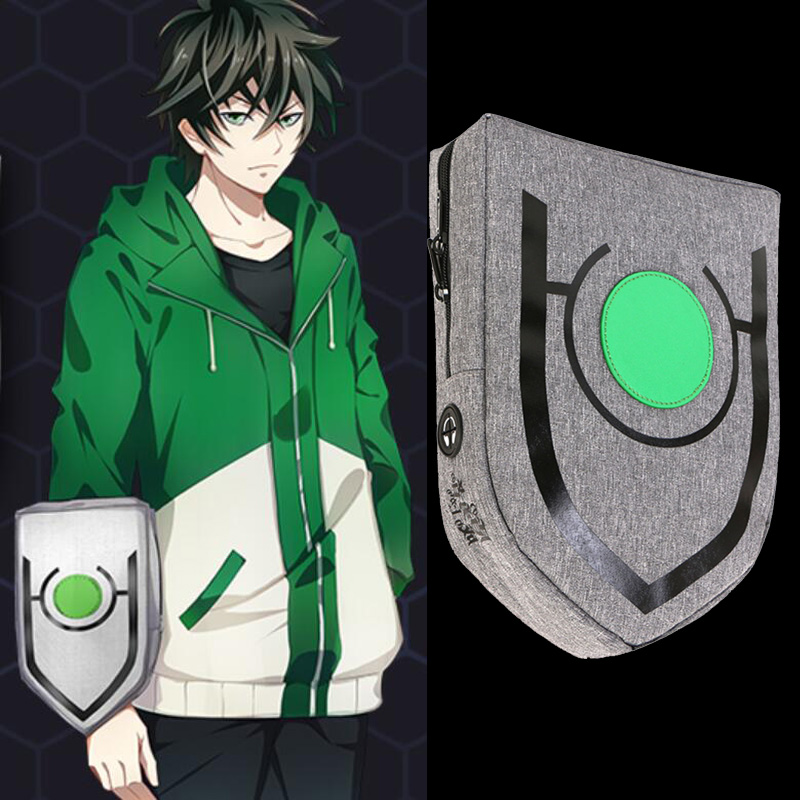 The Rising Of The Shield Hero Naofumi Iwatani Shield Backpack Men Women Messenger Shoulder Bag Chest Bag Crossbody Bag Accessory