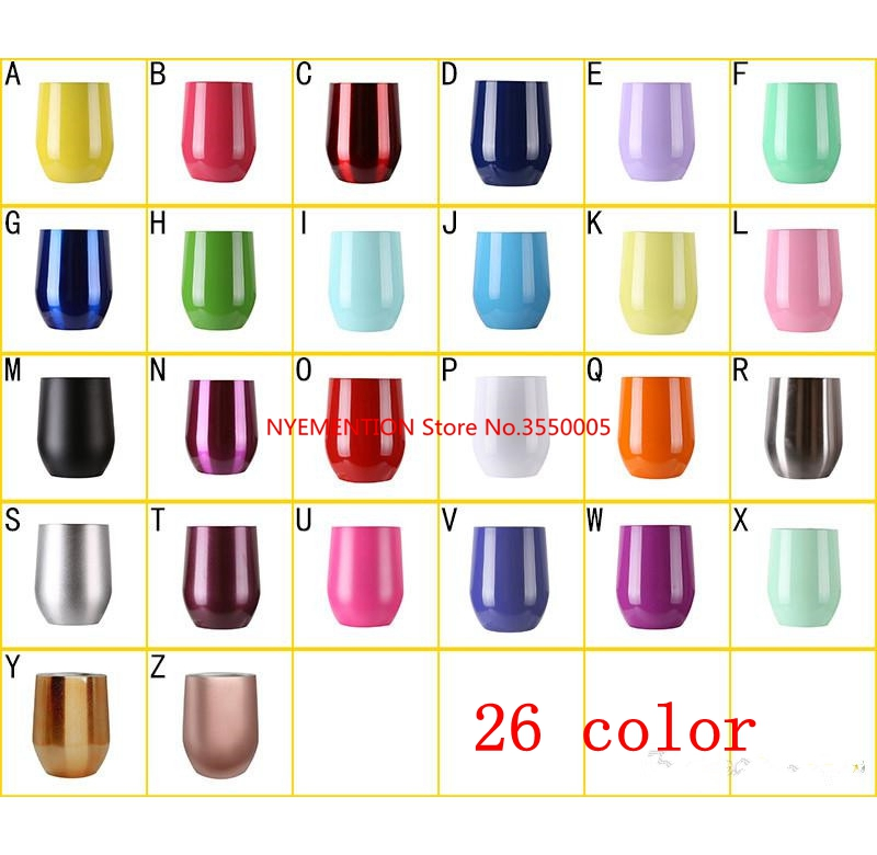 10pcs 9 oz Wine Cups thermos Mug Stainless steel Kids thermos Tumbler Insulated mug Vacuum flasks Cup Swig Travel Coffee Mug