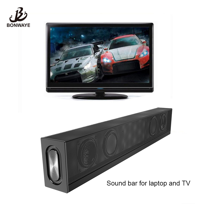 Bluetooth Speaker Portable Wireless Column Music 10W Soundbar with Subwoofer Speaker for TV and laptop laptop speaker for dell xps l502x l501x left and right set subwoofer speakers