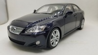 1:18 литья под давлением модели для Lexus IS350 2006 темно синий седан сплава игрушечный автомобиль миниатюрный коллекция подарок 350