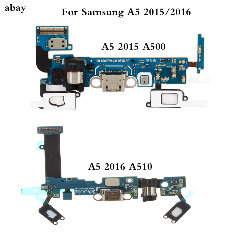 For Samsung Galaxy A510/A500 USB Charging Dock  A5 2016/2015 SM-A510F A510/ A500 F Charge  Port Dock Connector Flex Cable