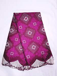 Voile Lace Cotton-Fabric Switzerland African Fashion in Product Swiss Hot-Sale New-Design