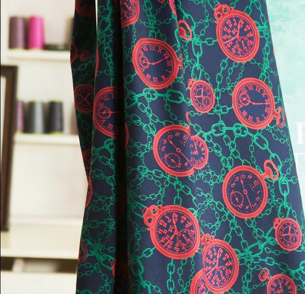 Temps arbre rotatif chaîne japonaise mauvaise marque Jacquard fil teint vêtements profil coton tissu - 2