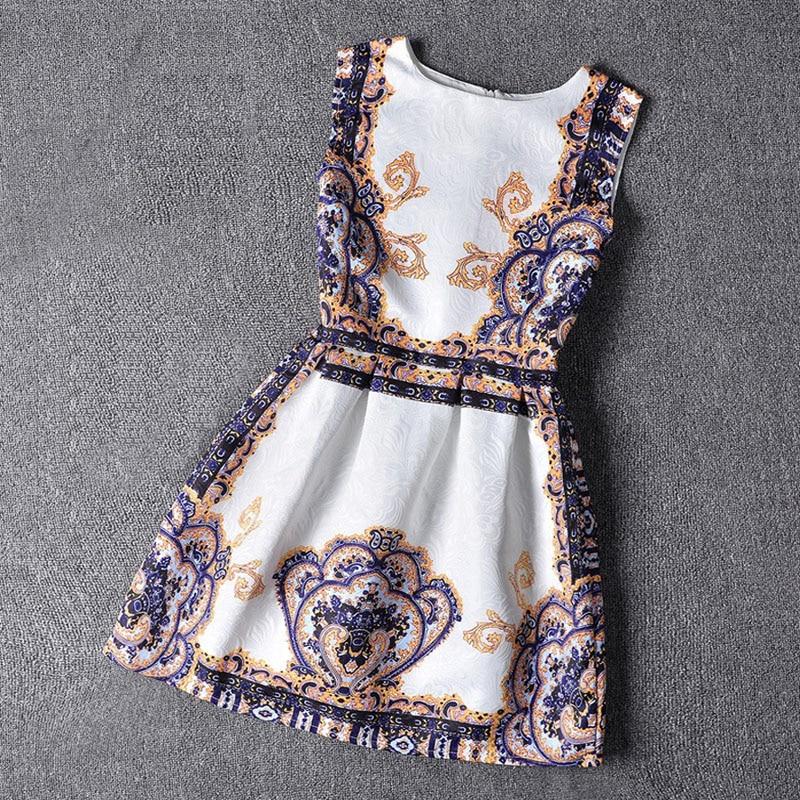 Mädchen A line Kleid kinder tragen ärmellose Prinzessin Kleider ...