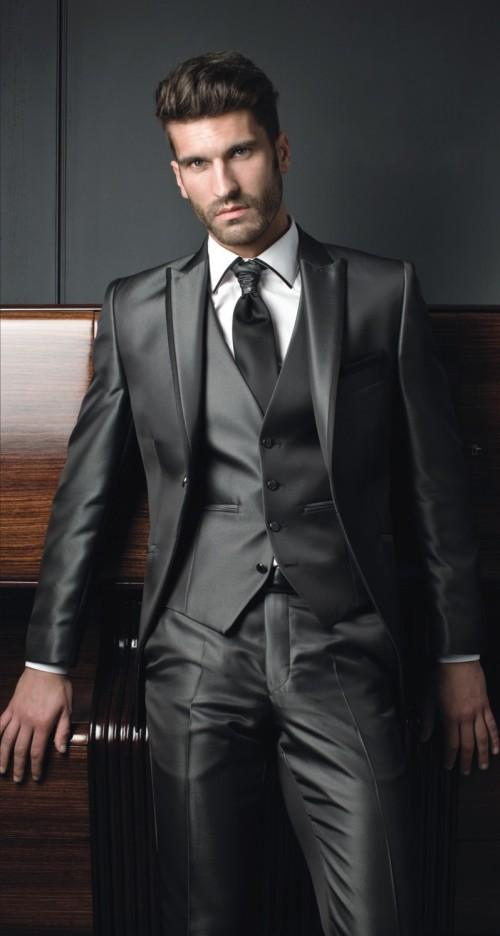 Mens Suits With Pants Tuxedo Express Suits Peaked Lapel Grooms ...