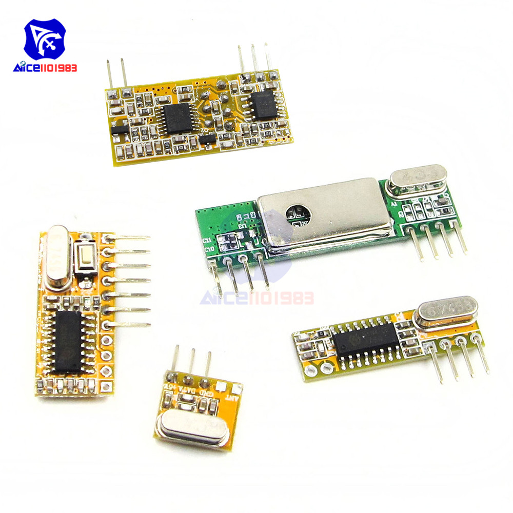 433Mhz Superheterodyne Wireless Receiver Module RXB12/RXB14/RXB8/RXC6/RXB6 For Arduino AVR 3.3 -5.5V