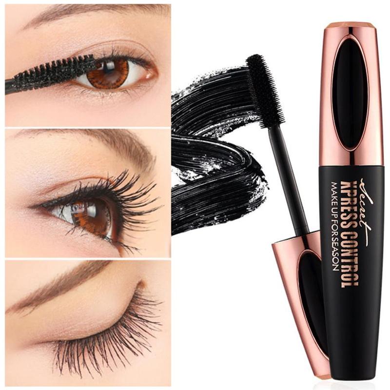 Macfee-Drop-Shipping-1pc-4D-Silk-fiber-EyeLashe-Makeup-Waterproof-Silicone-Brush-Head-Mascara-Lengthening-Thicker
