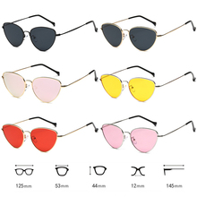 COCKCON Light Weight Summer Styles Retro Sunglasses Women Cat
