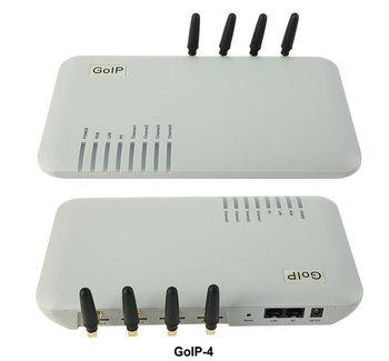 GOIP-4 4-kanał VoIP Gateway sieci GSM i VoIP instrukcje głosowe HTTP Auto przepis wsparcie do konfiguracji i aktualizacji tanie i dobre opinie YANHUI Brama VoIP 25*14*6(cm) grey 12V DC
