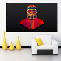 Large Size Printing Oil Painting Guardians Of The Galaxy Wall Painting Decor Wall Art Picture For