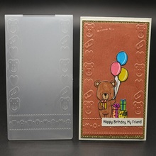 10 design plastic embossing folders scrapbooking for card making decorative albulm photo craft
