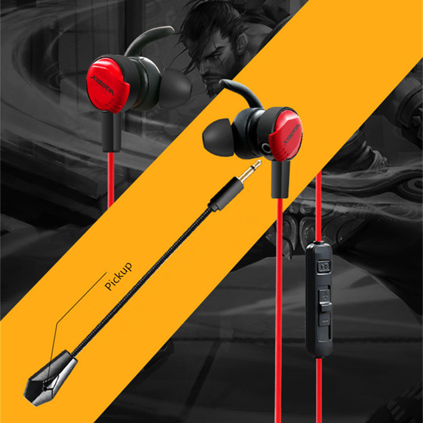 Xiberia MG-1 In-ear Gaming Headphonnes Earphones for Computer PS4 Xbox one Phone PC Gamer Casque Deep Bass Game Headset with Mic xiberia mg 1 in ear gaming headphonnes earphones for computer ps4 xbox one phone pc gamer casque deep bass game headset with mic