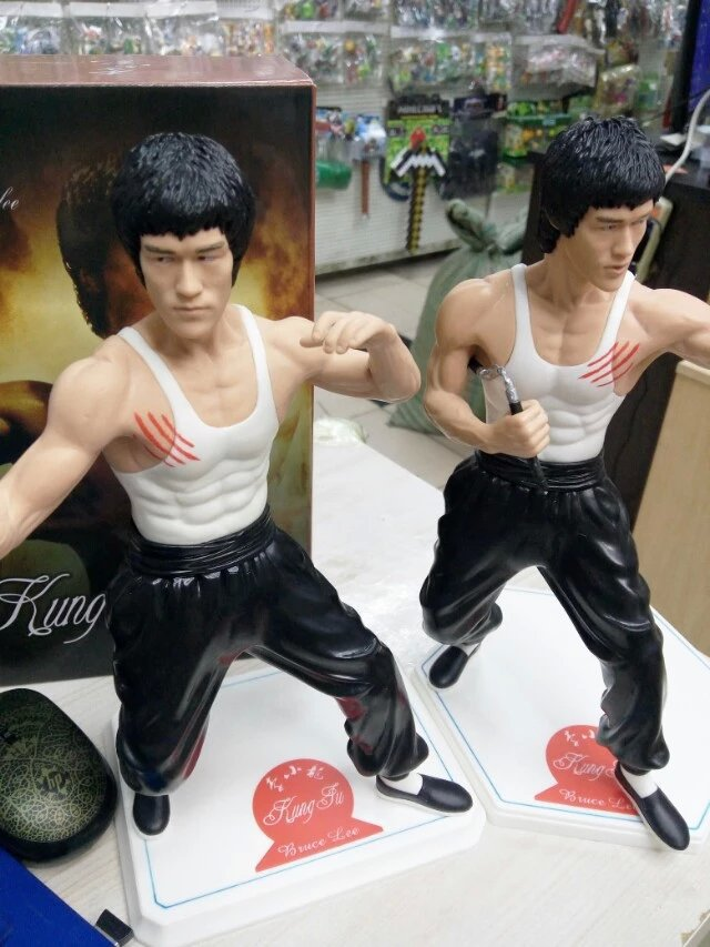 Bruce Lee Action Figure Model Collectable Enter The Dragon PVC Martial Arts New