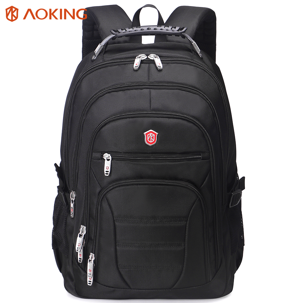 Aoking Original tout nouveau brevet Design Massage coussin d'air pour hommes sac à dos pour ordinateur portable hommes grande capacité Nylon confort sacs à dos